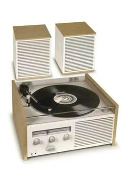 New 1950's style Crosley Switch 2 Turntable record 2 speed p