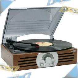 NEW JENSEN AM/FM Radio 3-Speed Turntable Record Player Stere