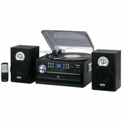 new am fm radio 3 speed turntable