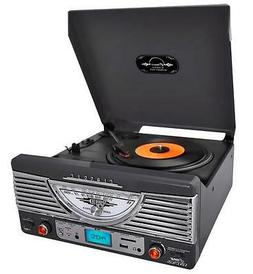 NEW Bluetooth Record Player Turntable Stereo w/ AUX Input..M