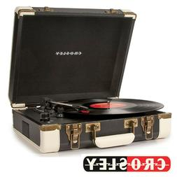 NEW Crosley EXECUTIVE DELUXE CR6019D-BK Bluetooth Portable T