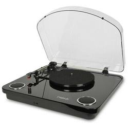 New Ion Max LP 3-Speed Conversion Turntable with Stereo Spea