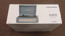 NEW - Crosley Voyager Portable Bluetooth 3-Speed Turntable C