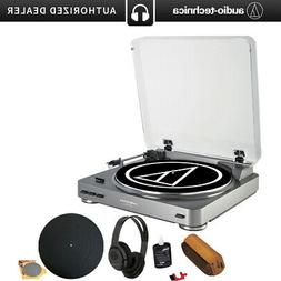 Audio-Technica AT-LP60 Turntable + Bluetooth Transmitter Wir