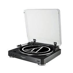 Audio Technica AT-LP60BK Fully Automatic Belt-Drive Stereo T