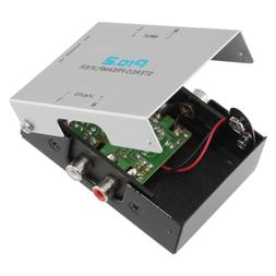 Pro2 PA005 Inline Phono PreAmp For Turntable Runs 9v Battery