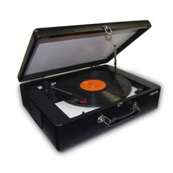 Jensen Portable Stereo Turntable with Audacity Software Suit