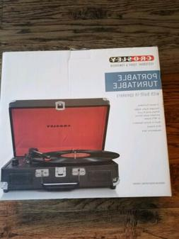 Crosley Portable Turntable With Speakers