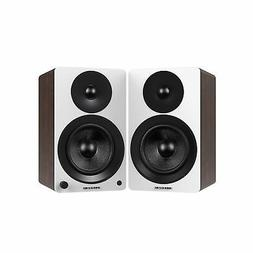 "Fluance Powered 5"" Bookshelf Speakers for Turntable, PC, HDT"