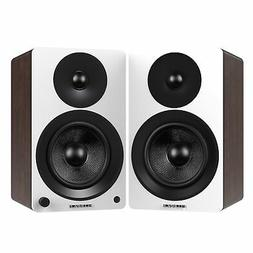 "Fluance Powered 6.5"" Bookshelf Speakers for Turntable, PC,"