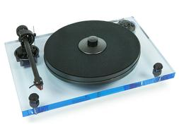 Pro-Ject 2xperience Primary Acryl Blue Record Player with Ne