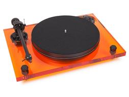 Pro-Ject 2xperience Primary Acryl Orange Record Player with