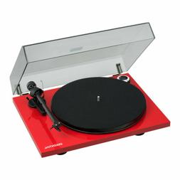 Pro-Ject Essential III Bluetooth Turntable Gloss Red with Or