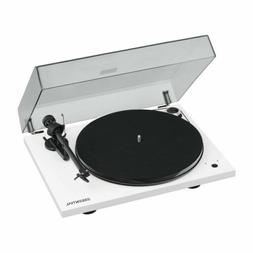 Pro-Ject Essential III RecordMaster Turntable Gloss White wi