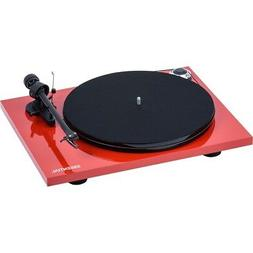 Pro-ject Turntable Essential III Phono High-gloss Red incl.