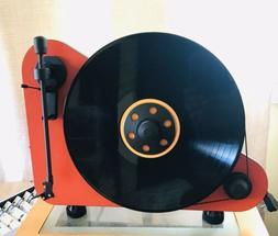 Pro-ject VT-E R DC333 Red Turntable Brand New In Box