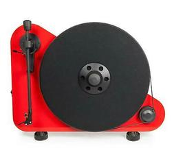 Pro-Ject VT-E  Red Vertical Turntable w/OM5E