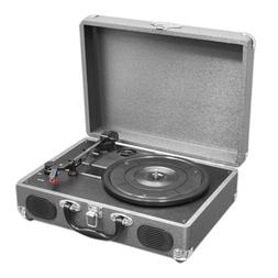 Pyle PVTT2UGR Retro Belt-Drive Turntable with USB-to-PC Conn