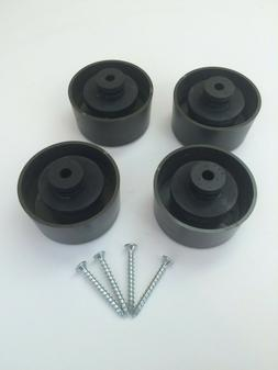 PIONEER RECONDITIONED ORIGINAL TURNTABLE REPLACEMENT FEET PL