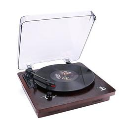 D&L 3-Speed Record Player with Built-in Stereo Speakers, Vin