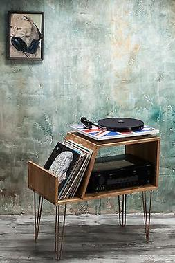 Record player stand, Record Player Cabinet, Media Console, T