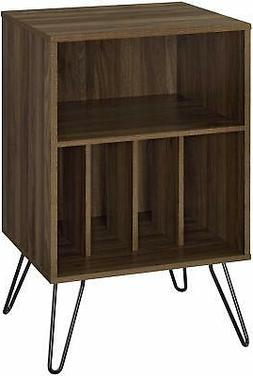 Record Player Table Vinyl Album Storage Rack Retro Shelves S