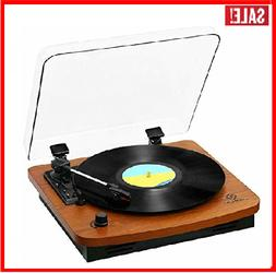 JORLAI Record Player, Turntables for Vinyl Records, 33 45 78