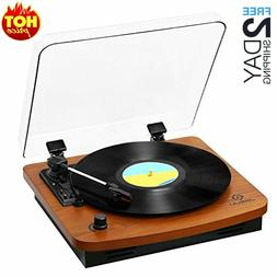 Record Player, Turntables for Vinyl Records, 33 45 78 RPM Re