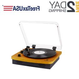Record Player, Turntables For Vinyl Records, 33 45 78 RPM Wi