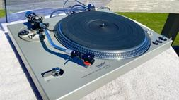 sl 1700 turntable new at100e cart very