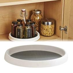 spice turntable organizer home kitchen rack cabinet