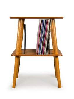 Crosley ST66-AC Manchester Turntable Stand with Wire Record