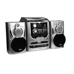 Jensen 3-Speed Stereo Turntable with 3 CD Changer and Dual C