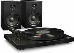 Crosley T100D 2-Speed Bluetooth Turntable System with Stereo