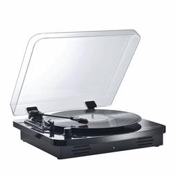 t1107 turntable speaker vinyl mp3 record player