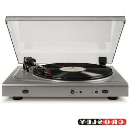 Crosley T300A-SI 2-Speed Component Bluetooth Turntable - Sil