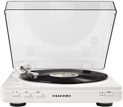 Crosley T400 Fully Automatic 2-Speed Component Turntable wit