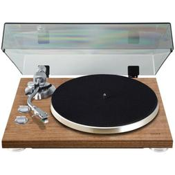 Teac TN-400S-WA Walnut 3-Speed Belt Drive Turntable with Bui