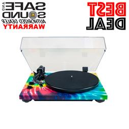 TEAC TN-420 Belt-Driven Turntable with S-Shaped Tonearm and