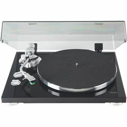 Teac TN-350-MB Satin Black 2-Speed Analog Turntable with USB