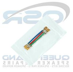 Turntable Cartridge/ Head Shell lead Wires - Gold Plated