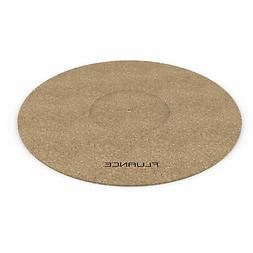 Fluance Turntable Cork Platter Mat Improves Sound for Vinyl