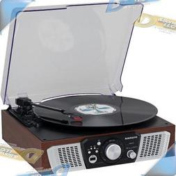 Sylvania SRC831 3-Speed Turntable with Built-in Speakers, an