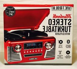 Victrola 50's Retro 3-Speed Bluetooth Stereo Turntable with