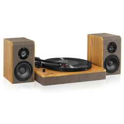 Victrola Modern 3-Speed Bluetooth Turntable with 50 Watt Spe