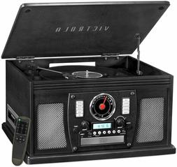 Victrola Navigator 8-in-1 Bluetooth MP3 Record Wireless Play