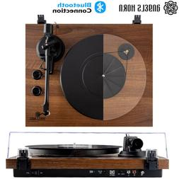Angels Horn Vintage Record Player Turntable Bluetooth Two-Sp