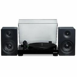 "Fluance Vinyl Turntable with Ai40 5"" Powered Bookshelf Speak"