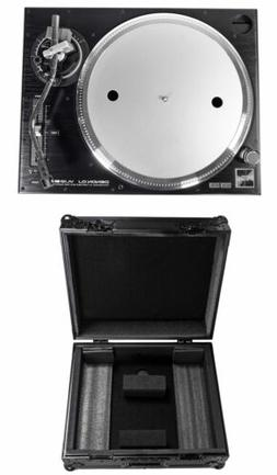 DENON VL12 Prime Direct-Drive DJ Turntable + Odyssey Black L