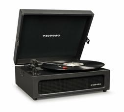 Crosley Voyager Turntable  CR8017A Black 3-Speed Stereo - BR